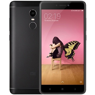 Смартфон Xiaomi Redmi Note 4X 32Gb Black (Черный)