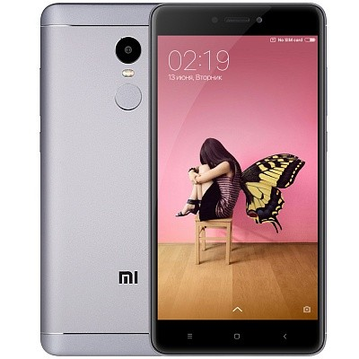 Смартфон Xiaomi Redmi Note 4X 64Gb Gray (Серый)