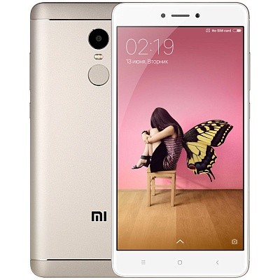 Смартфон Xiaomi Redmi Note 4X 64Gb Gold (Золотой)