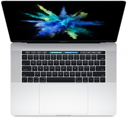 Купить Apple MacBook Pro 15 Retina Touch Bar MPTU2 Silver (2,8 GHz, 16GB, 256GB) в Москве