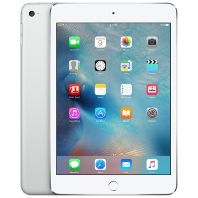 Apple iPad mini 4 128Gb Wi-Fi + Cellular Silver (Серебристый)