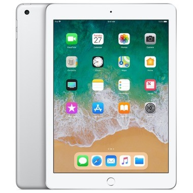 Apple iPad 2018 32GB Wi-Fi + Cellular Silver (Белый)